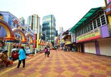 La poca India de Kuala Lumpur, Malasia Imagen de archivo