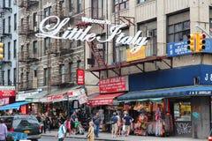 La poca Italia, New York fotografia stock