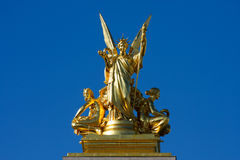 La Poesie, Opera Garnier Royalty Free Stock Photos
