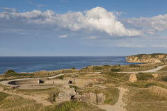 La Pointe du Hoc Royalty Free Stock Images