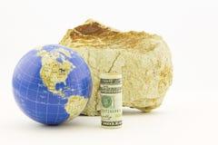 La política financiera americana es global Imágenes de archivo libres de regalías