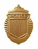 La policía Badge fotos de archivo
