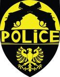La policía badge Imágenes de archivo libres de regalías