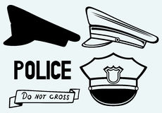 La policía capsula Imágenes de archivo libres de regalías