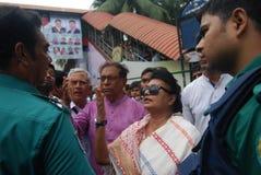 La policía de Bangladesh es la agencia policial principal de Bangladesh foto de archivo libre de regalías