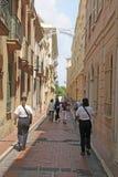 La policía de Mónaco patrulla Fotos de archivo