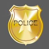 La policía del vector Badge Fotos de archivo libres de regalías