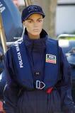 La policía marítima uniforma Imagen de archivo