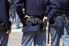 La policía patrulla Foto de archivo libre de regalías