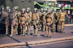 La police anti-émeute Image stock