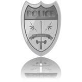 La police badge illustration libre de droits