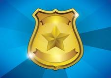 La police badge Photos libres de droits