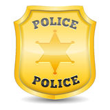 La police Badge Images stock