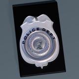 La police badge Photographie stock