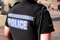 La police a battu images stock