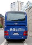 La police de Copenhague donne des leçons particulières Image libre de droits
