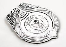 La police de jouet badge Image libre de droits