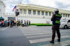 La police de la circulation Images libres de droits