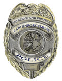 La police de police de shérif badge Photo libre de droits