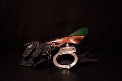 LA POLICE EMBRAYE Images libres de droits