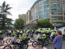 La police est prête pour unit les 2 droits images libres de droits