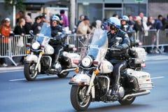 La police patrouille Photos stock