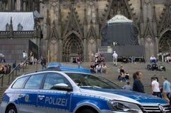 La police patrouille Photo libre de droits