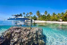 La Polinesia francese Fotografia Stock