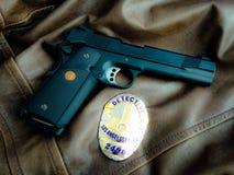 La-Politiedetective Royalty-vrije Stock Fotografie