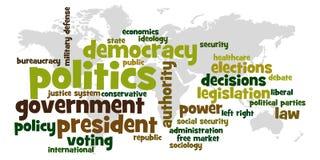 La politique Image stock