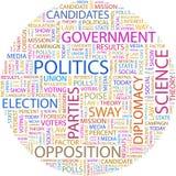 LA POLITIQUE. Image stock