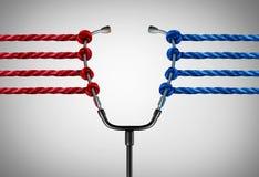 La politique médicale illustration libre de droits