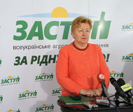 La politique ukrainienne Images stock