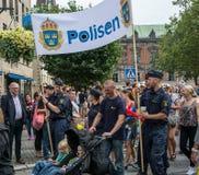 La polizia Immagine Stock Libera da Diritti
