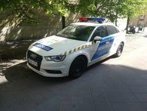 La polizia di Budapest immagine stock