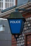 La polizia firma immagine stock libera da diritti