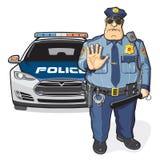 La polizia sorveglia, sceriffo Fotografia Stock