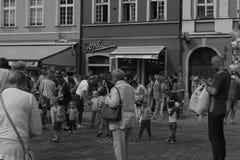 La Pologne, '2018 de WrocÅ de disque de Guinness de guitare du 'aw de WrocÅ aw 2018 photos libres de droits