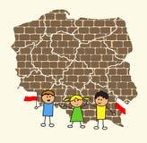 La Pologne Photo libre de droits