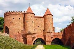La Pologne, barbacane à Varsovie Image libre de droits
