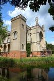 La Pologne - château dans Kornik image stock