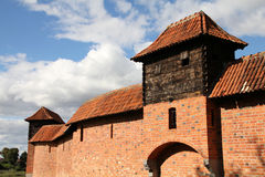 La Pologne - le Malbork Image libre de droits