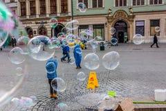 La Polonia, Cracovia Immagine Stock Libera da Diritti
