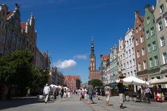 La Polonia Danzica Fotografia Stock