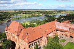 La Polonia - Malbork Immagini Stock Libere da Diritti