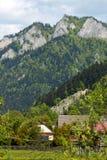 La Polonia - paesaggio Pieniny della montagna Fotografia Stock