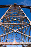 La Polvorilla de Viaducto Fotografia de Stock