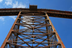 La Polvorilla viaduct, Tren A Las Nubes, northwest of Argentina Royalty Free Stock Photography