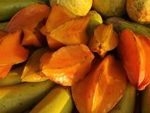 la pomme comme l'Asie a loin trouvé le genre du fruit i pour connaître la plupart du temps l'étoile Photographie stock