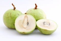 la pomme comme l'Asie a loin trouvé le genre du fruit i pour connaître la plupart du temps l'étoile Photo stock